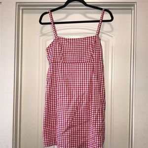 Urban Outfittera gingham dress